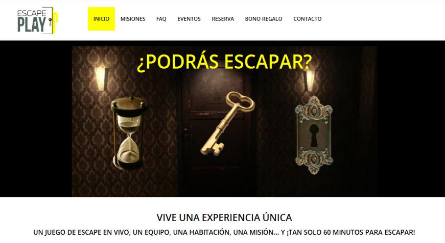 www.escapeplay.es | Murcia